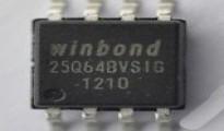 Прошитая SPI Flash 25Q64 для понижения версии прошивки v3.00.02.00
