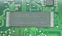 Прошитая оригиналом K9F1G08U0D-SCB0 или TC58NVG0S3ETA0B для Samsung CLX-3305FW, C460FW