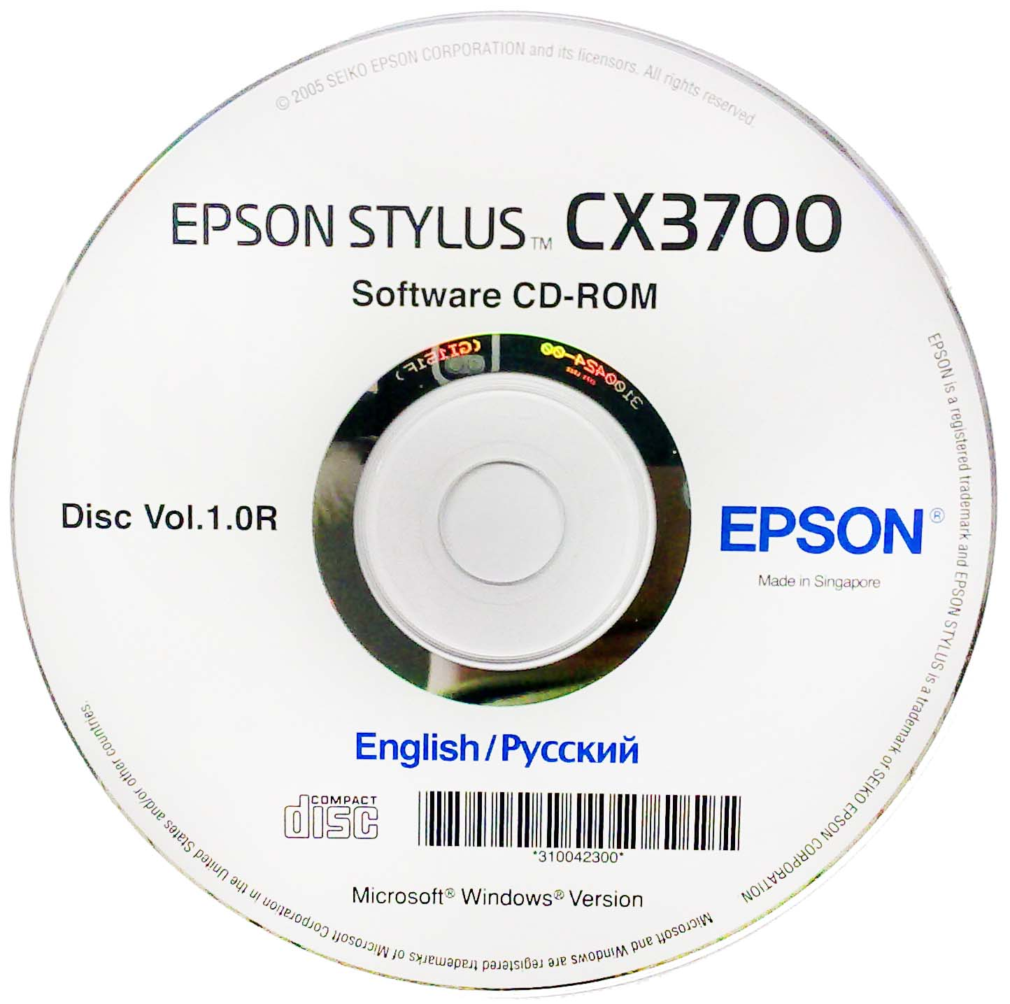 Epson r300 adjustment program download