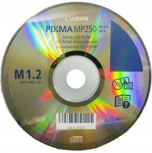 диск с драйверами Canon MP250