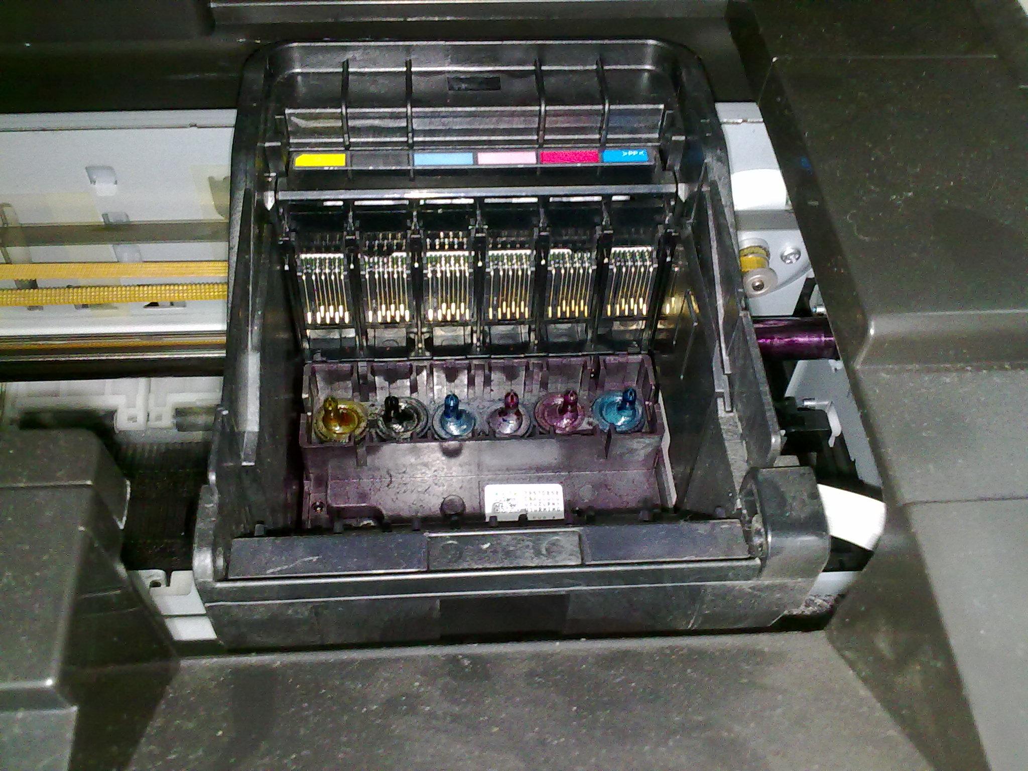 Ремонт принтера epson r290 своими руками