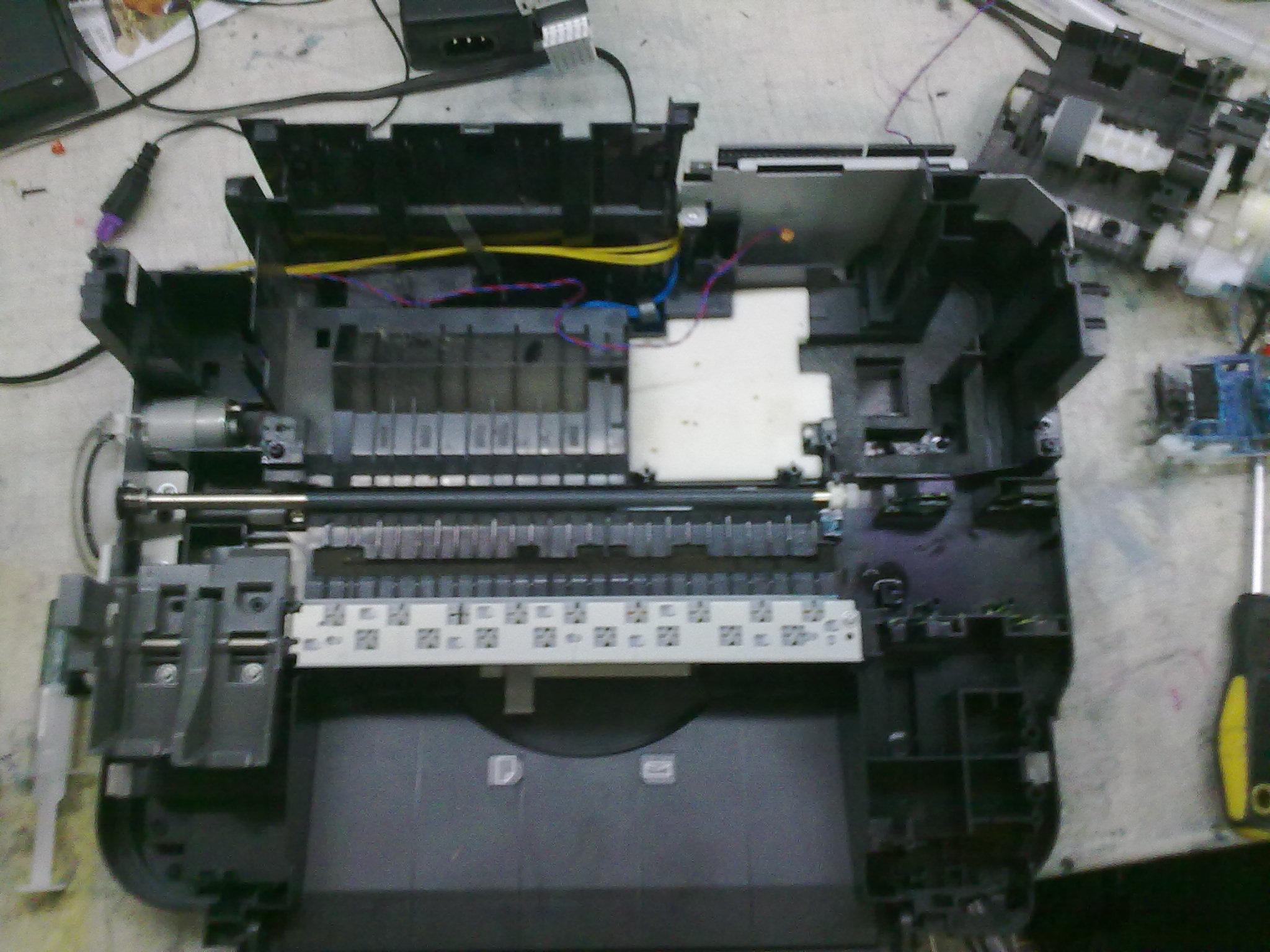 Инструкция По Промывке Печатающих Головок Принтеров Canon