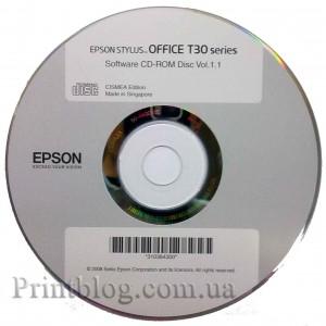 Загрузочный диск Epson T30