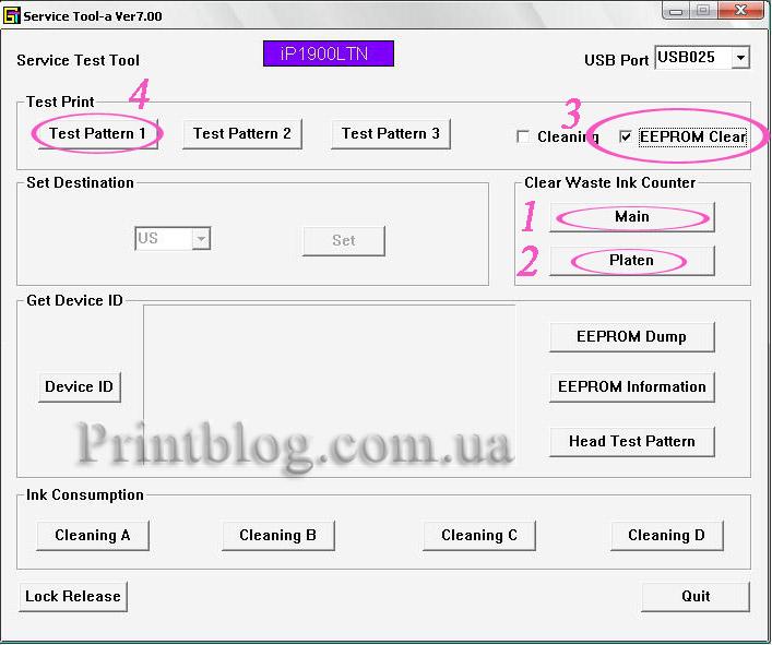 Как сбросить памперс epson l120 - 907