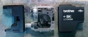 Как заправить картриджи Brother LC1240 для MFC-J6510DW J6710DW J6910DW