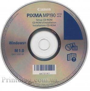 Canon Mp190 драйвер Windows 7