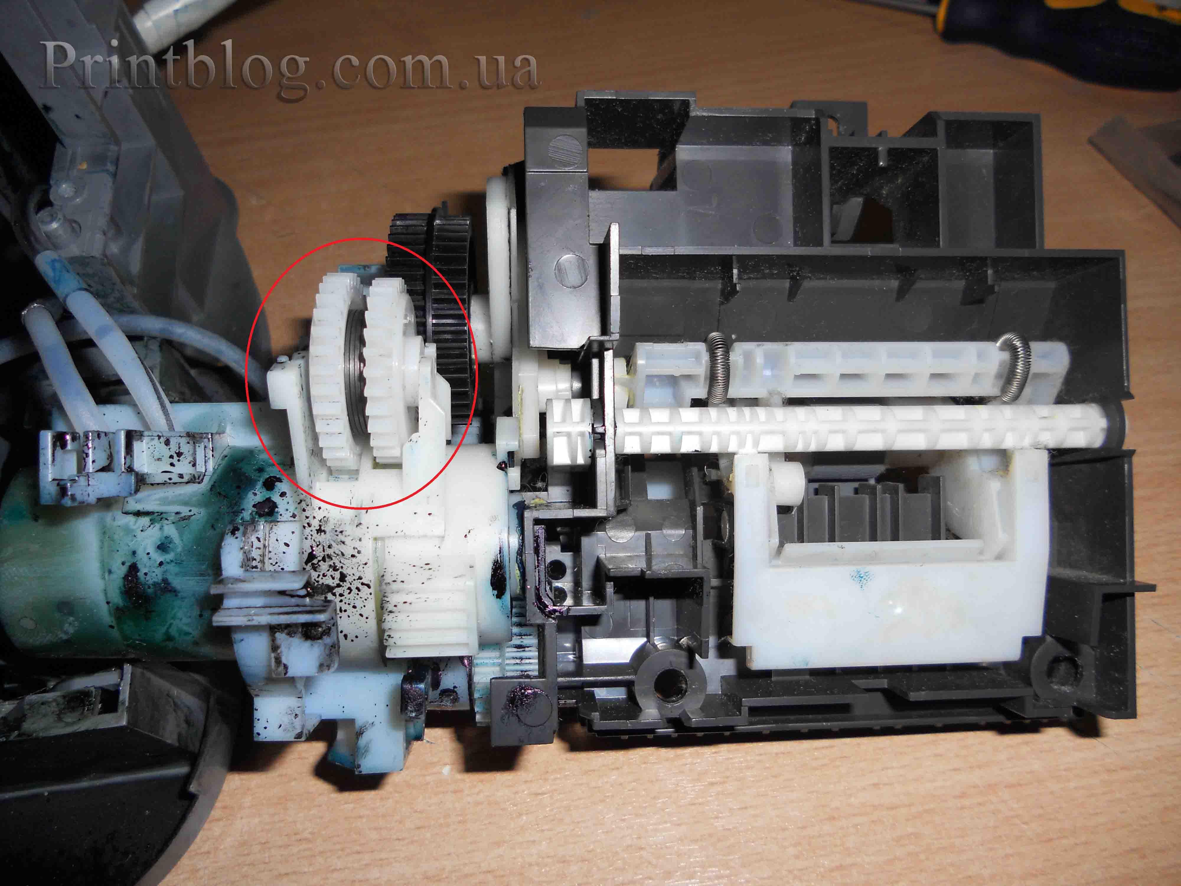 Механизм подачи бумаги в принтере canon mp140