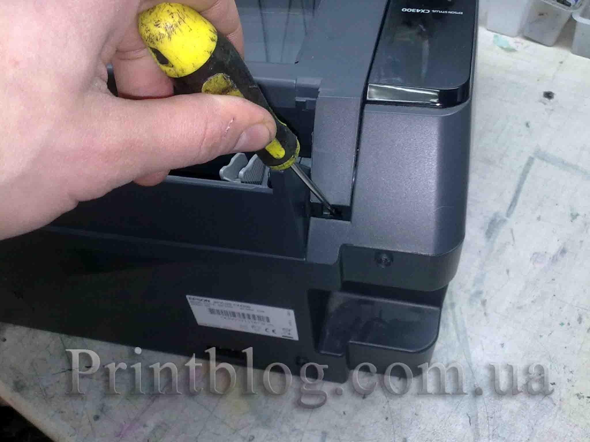 epson stylus cx4900 инструкция по разборке