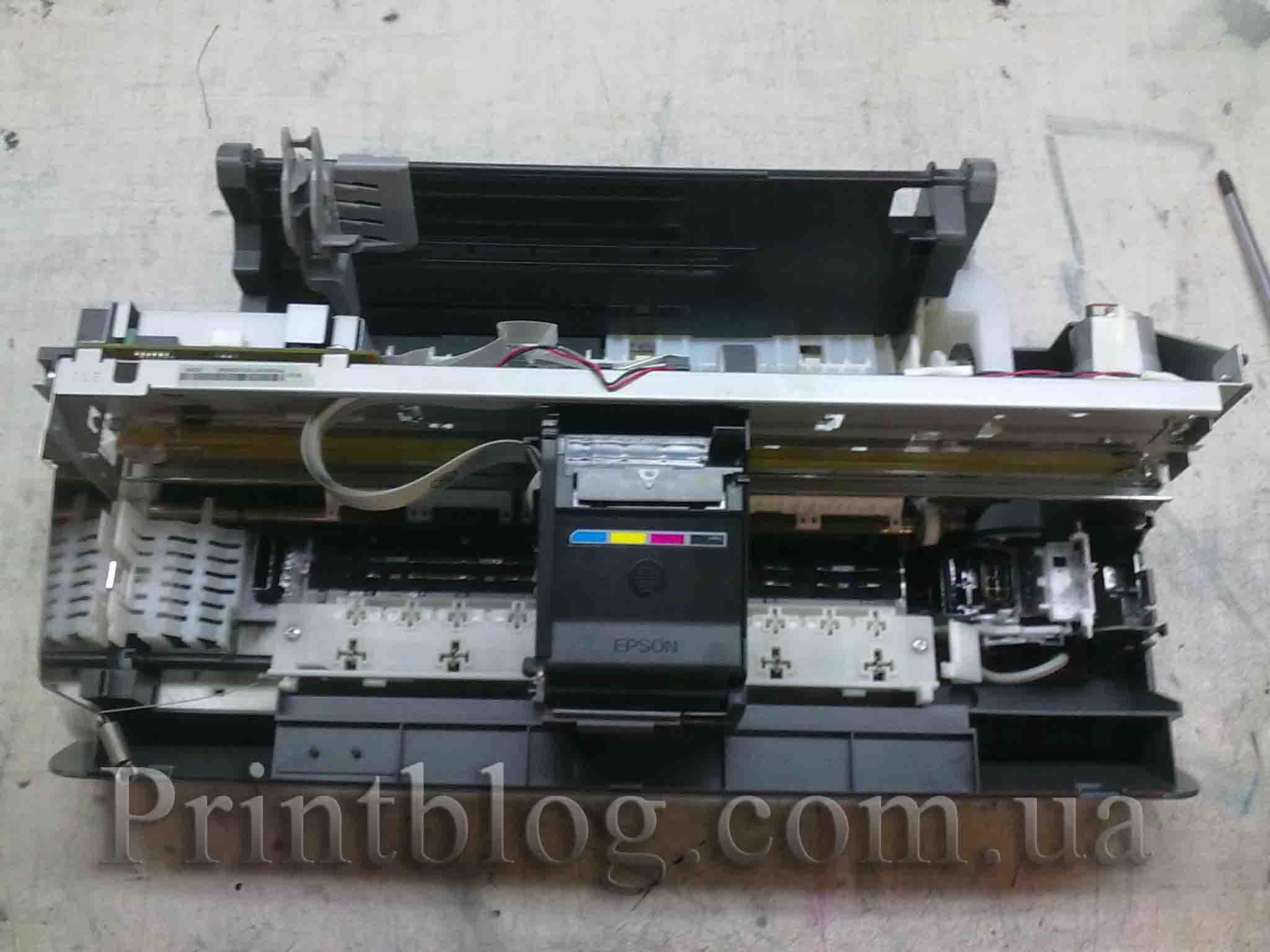 Инструкции по разборке принтеров