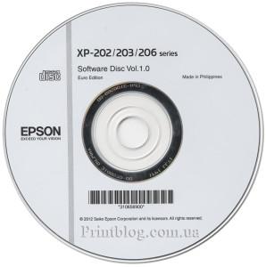 Оригинальный диск с драйверами