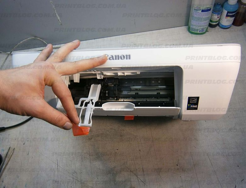 Установка Canon Pixma MG2440