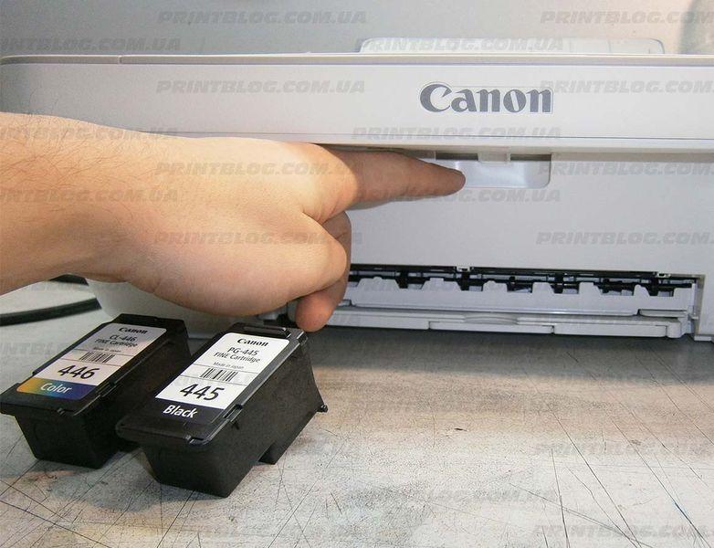 Как самому заправить картридж принтера canon mg2440