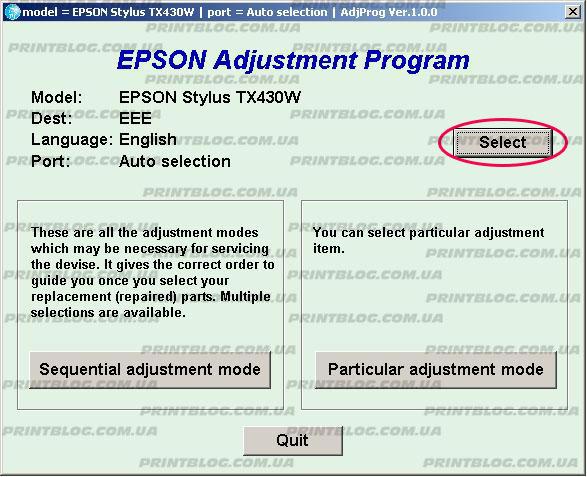 Epson Stylus SX230, SX235W, SX430, SX435